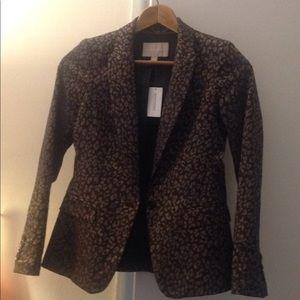 NWT 🍌 rep. Cheetah blazer